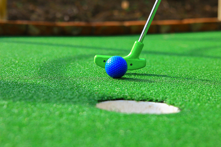 Image result for mini golf putter up close