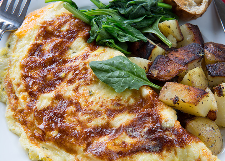 The 10 Best Omelets in South Carolina!